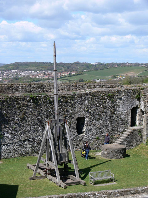Trebuchet at Dover Castle