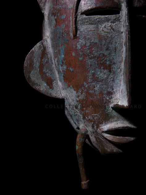 Senoufo masque Kpelié art design fake