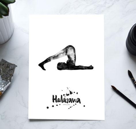 YOGA Print - Pflug / Halasana