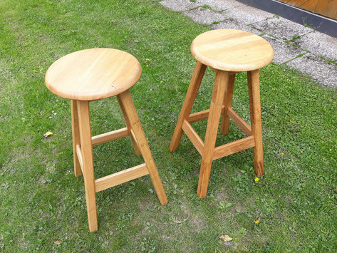 Sitzhocker Barhocker aus Holz