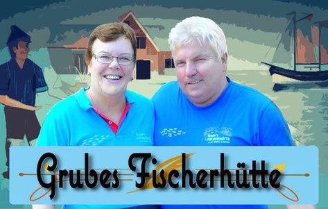 Wilhelm und Sabin Grube Grubes Fischerhuette Fischzucht Fischrestaurant