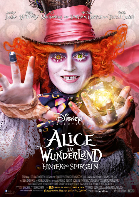 Alice im Wunderland 2 Film - Disney - kulturmaterial