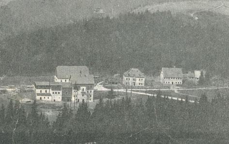 Bild: Wünschendorf Hammermühle Neunzehnhain 1900