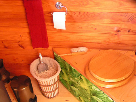 toilettes chauffés