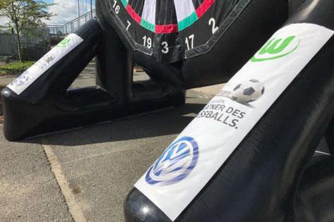 Fußballdart Volkswagen