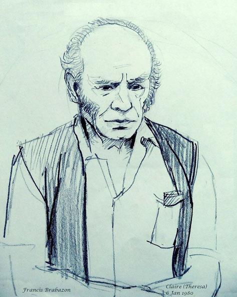 Sketch of Francis Brabazon