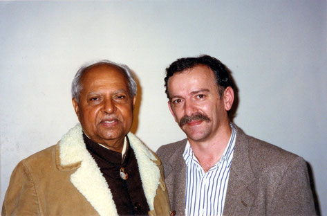 1997 - Bhau with Anthony Zois ( webmaster ) in Melbourne, Australia