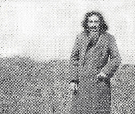 "Meher Baba at the ""Retreat"" E.Challacombe, Devon, England. Courtesy of The Glow ; May 1970"