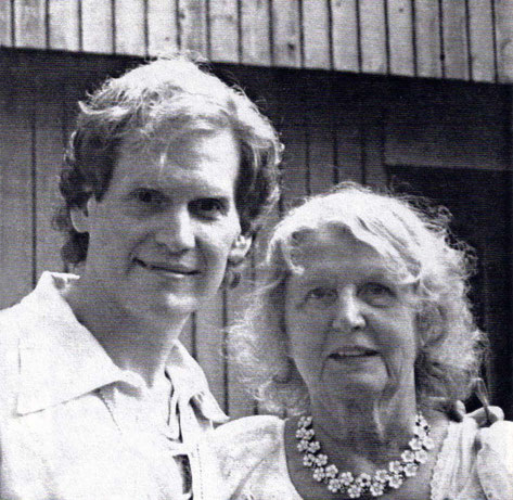 Rafael and his mother Virginia. Photo from the White Horse Journal.