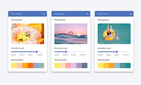 palette di colori automatica per il tuo sito Jimdo