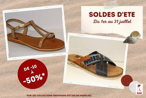 promotions soldes chaussures Chimay Couvin