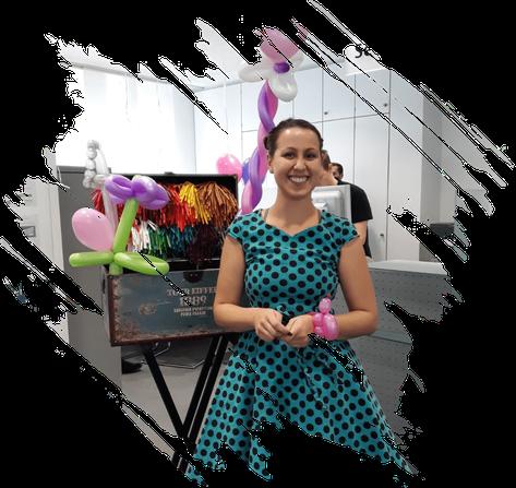 Ballonkünstler Veranstaltung Aalen