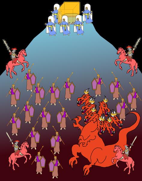 Qui est Gog de Magog ? Le parallèle fait entre Ezéchiel 38 et Apocalypse 20 nous permet de comprendre que le même personnage est à la tête de la coalition opposée à Dieu, il s'agit de Satan le diable.