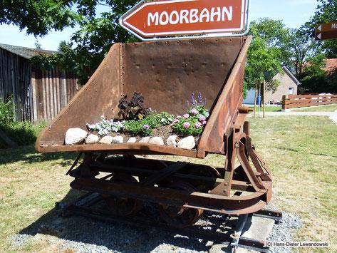 Die Moorbahn startet und erreicht ihr Ziel: Im Hagen, in der Ortschaft Westerbeck
