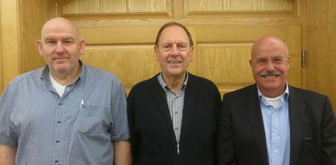 Zweiter Volker Willer, Sieger Albert Vosseler, Dritter Detlev Münnich