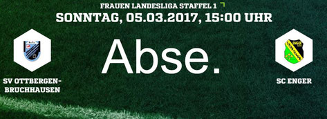 Spielausfall SV Ottbergen-Bruchhausen - SC Enger