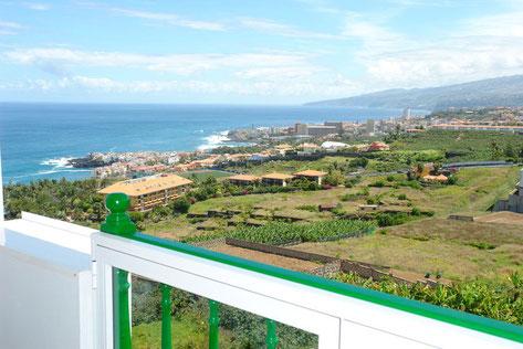 360 Grad Blick von der Dachterrasse der Wohnung.