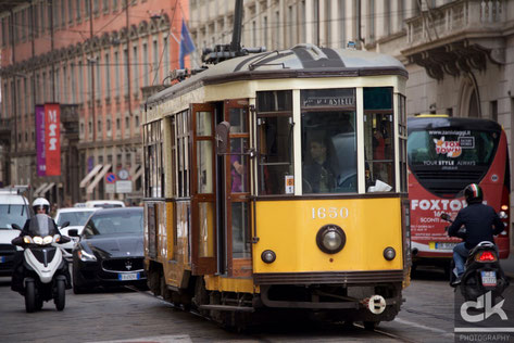 """Mailänder Tram """"Ventotto"""""""