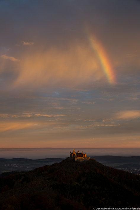 Sonnenaufgang, Regenboden und im Tal Nebel ... perfekte Bedingungen! ;-)