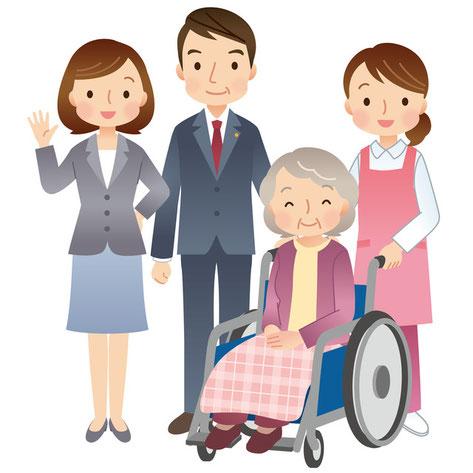 お墓参り代行、介護福祉施設への入居申込みなど暮らしサポート