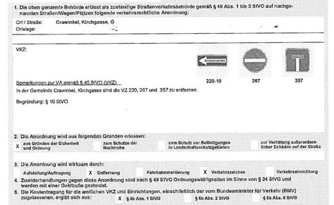 Quelle: Schreiben vom Landratsamt Gotha an die Stadtverwaltung Ohrdruf