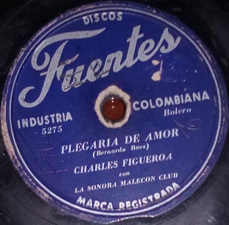 Plegaria de amor - Charlie Figueroa y Sonora Malecon Club - Fuentes 5275.