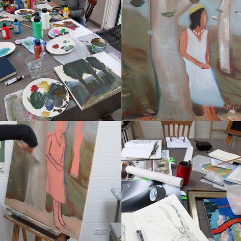 Workshop Malerei I Perspektive, Farbe, Komposition