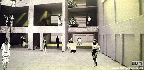 Bitarte Arquitectura + Comunicacion / ciudad y patios Work-Home / London Metropolitan University / architecture research / www.bitartearquitectura.com