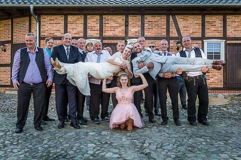 Standesamt Perleberg & Landhaus Sükow mit Hochzeitsfotografen