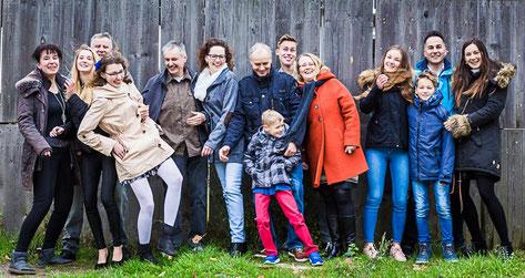 Familienbilder in und vor meinem Fotostudio in Wittenberge (Prignitz).