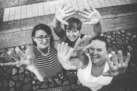 Mutter-Töchter-Fotoshooting in Perleberg