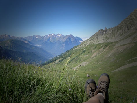 Walking, wildlife, col du sabot.