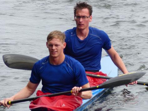 Franz Herm und Lukas Schulz im KII über 2000 Meter.