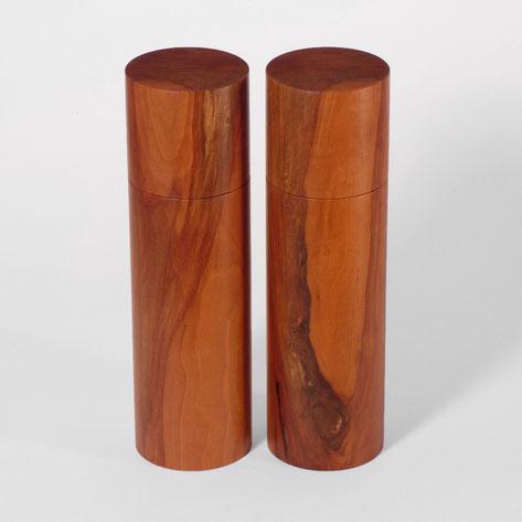 Pfeffermühle / Salzmühle exklusive Sets aus edlem Naturholz. Handgemacht in Deutschland. Mahlwerk von Strässler, nicht Peugeot.