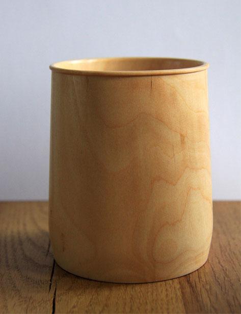 Holz, Salzfass, Drechselarbeit, Tilmann Bohne, Holzsteinpapier