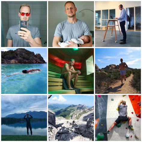 Instagram Collage Marco Grosch Minimalist Biohacker