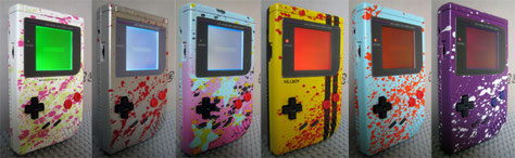 new Custom Edition Game Boys in shop