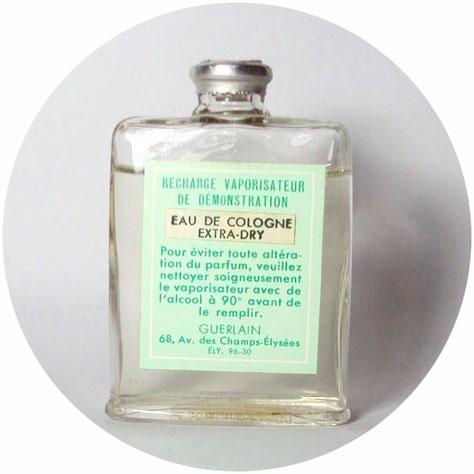 EAU DE COLOGNE : RECHARGE VAPORISATEUR DE DEMONSTRATION