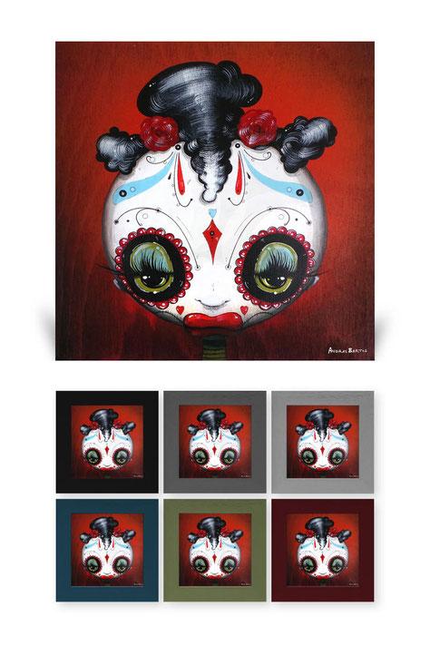 andras bartos  pop art leinwanddruck canvas print berlin