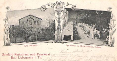 Sanders Pension -  Archiv Hartmut Luck