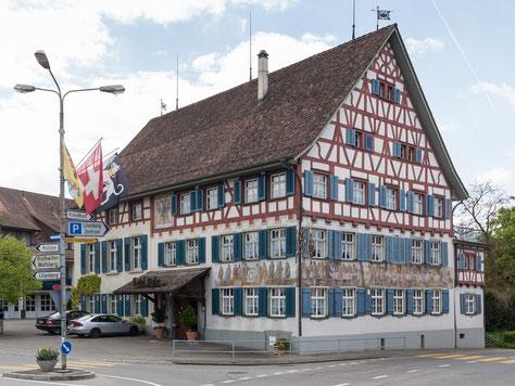 """das Gasthaus Adler - die """"Auberge Napoléon"""""""