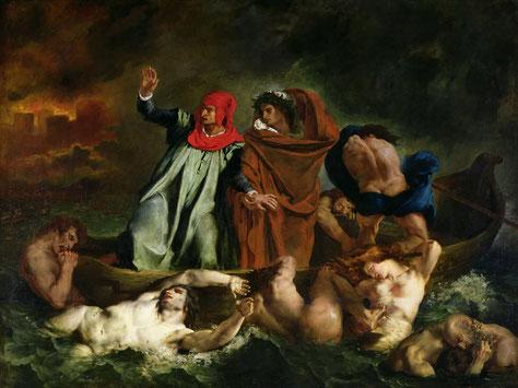 《ダンテの小舟》1882年