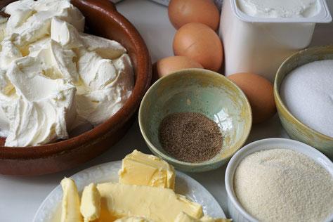 Käsekuchen ohne Boden - aus Essen essen von Kat Menschik