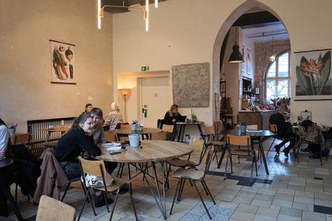 Café & Shop in Berli/ Kreuzberg - Hallesches Haus