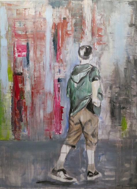 Kolya * Acryl auf Baumwolle * 100 x 140 cm * 2014