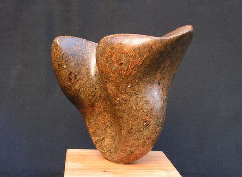 rechercher l'essentiel - stéatite brun-rouille 2012 9cm