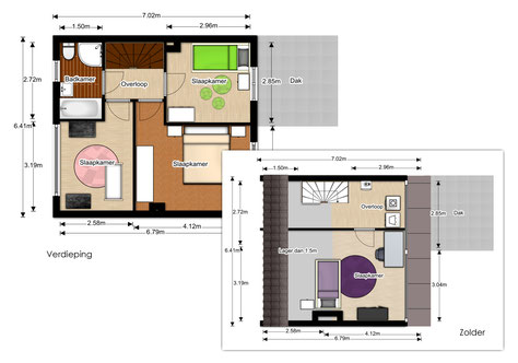 Floorplanner gemeubeleerd