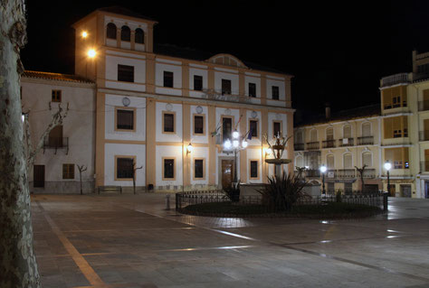 The main square of Baza