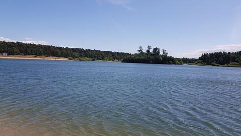 Total schöner See bei Landskrona