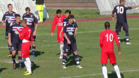 2010-11 Amichevole con la Sampdoria
